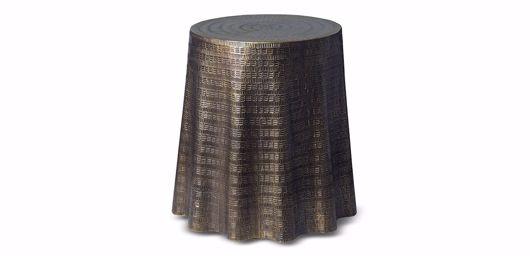 Picture of BIJOU DRAPE END TABLE