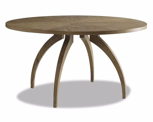 Picture of ATHERTON TEAK ROUND DINING TABLE
