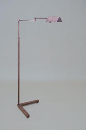 Picture of WEATHERED NICKEL DARK MAGGIE ADJUSTABLE FLOOR LAMP