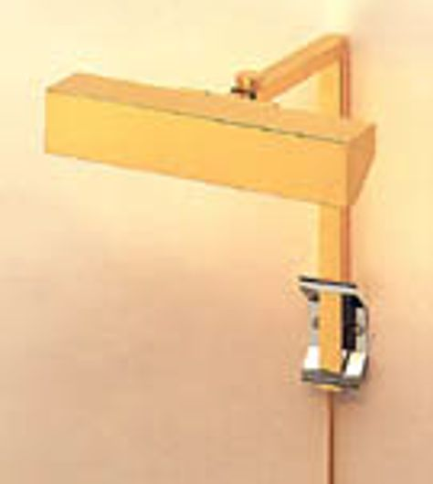 Picture of POLISHED BRASS PICTURE LIGHT WITH ONE LIGHT SOURCE