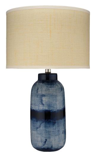 Picture of BATIK TABLE LAMP, LARGE