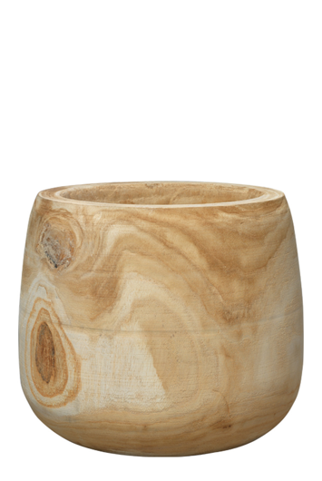 Picture of BREA WOODEN VASE
