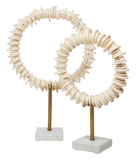 Picture of ARENA RING SCULPTURES (SET OF 2)