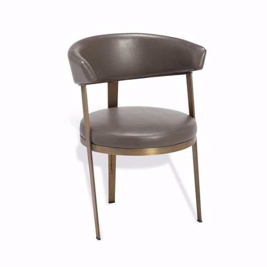 Picture of ADELE DINING CHAIR - GREY