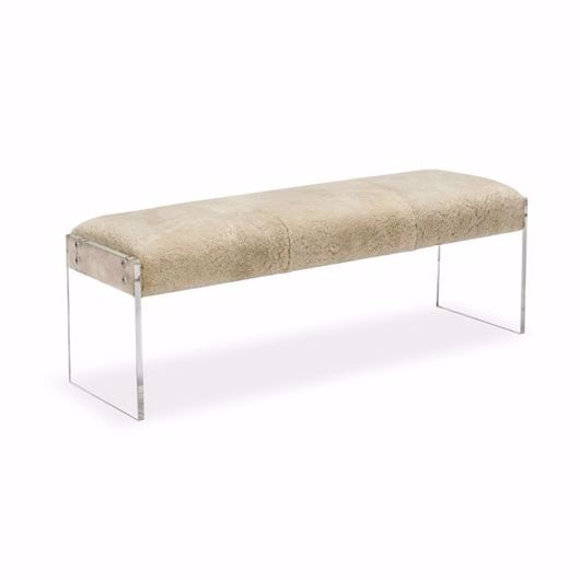 Picture of AIDEN SHEARLING BENCH