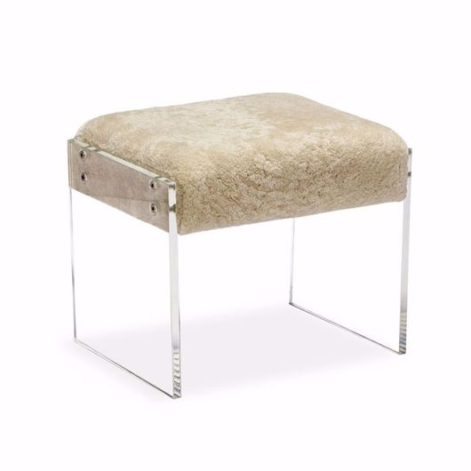 Picture of AIDEN SHEARLING STOOL