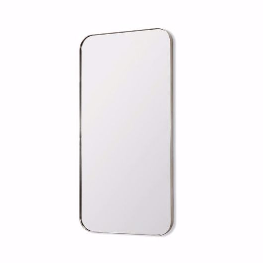 """Picture of AALINA MIRROR 80"""" - BRUSHED NICKEL"""