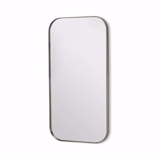 """Picture of AALINA MIRROR 54"""" - BRUSHED NICKEL"""