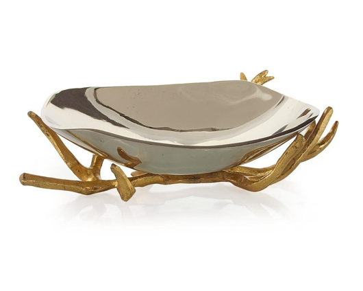 Picture of BOWL ON GOLD BRANCH