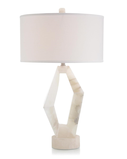 Picture of ABSTRACT ALABASTER TABLE LAMP
