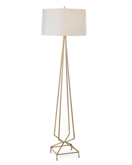 Picture of ANTIQUE BRASS FLOOR LAMP