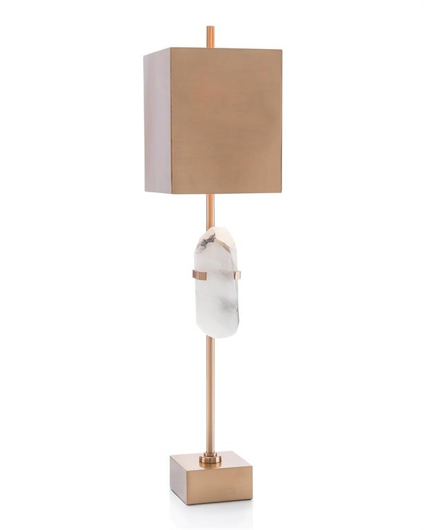 Picture of ALABASTER CRYSTAL BUFFET LAMP