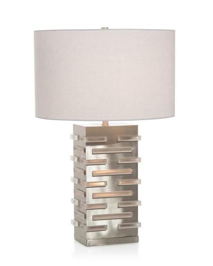 Picture of ACRYLIC BLOCKS ILLUMINATING TABLE LAMP
