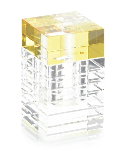 Picture of AINSLEY ORANGE AND YELLOW CRYSTAL BOX
