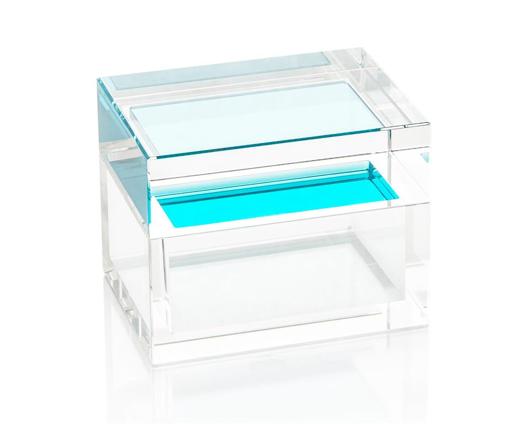 Picture of AQUA PETITE CRYSTAL BOX