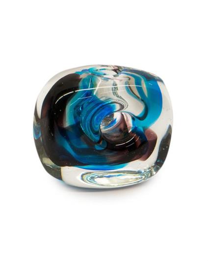 Picture of BLUE LAVA VASE