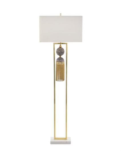 Picture of BRAIDED TASSEL FLOOR LAMP