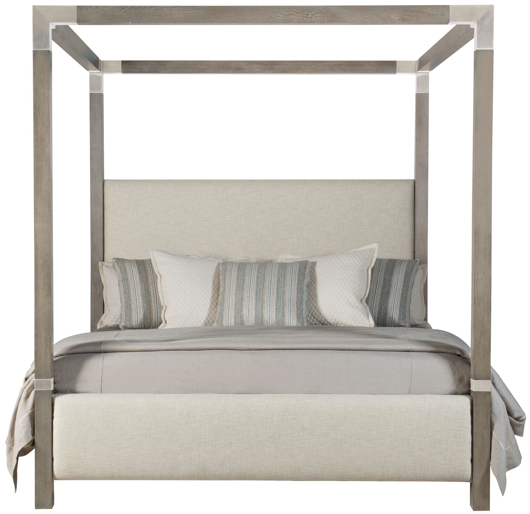 Picture of PALMA UPHOLSTERED CANOPY BED