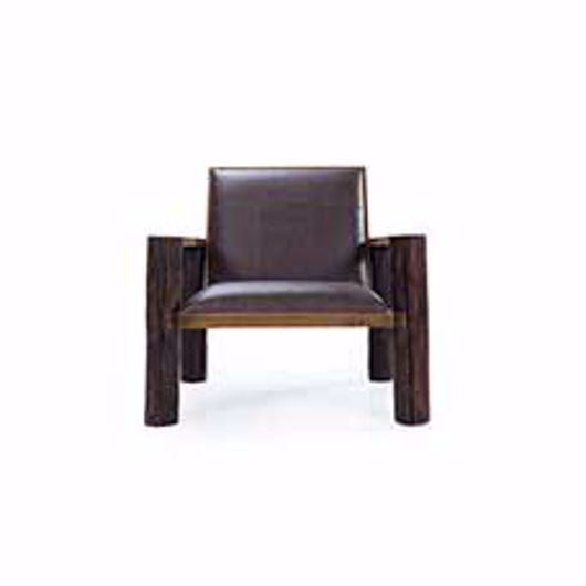 Picture of AUBURN LEATHER CHAIR