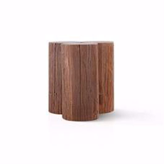 """Picture of AUBURN 20"""" 3-POST ACCENT TABLE"""