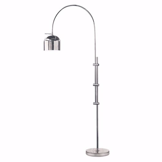 Picture of ARC FLOOR LAMP WITH METAL SHADE
