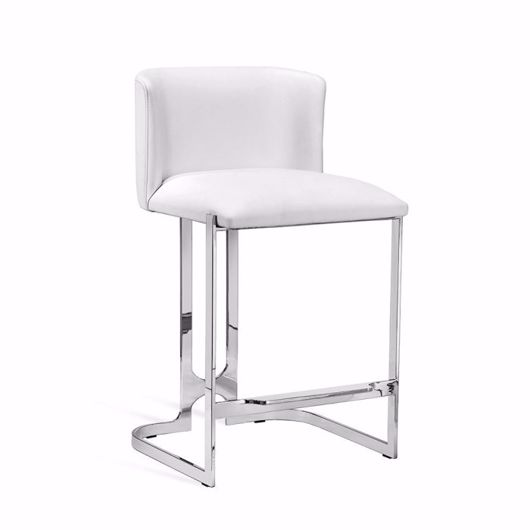 Picture of BANKS COUNTER STOOL - WHITE